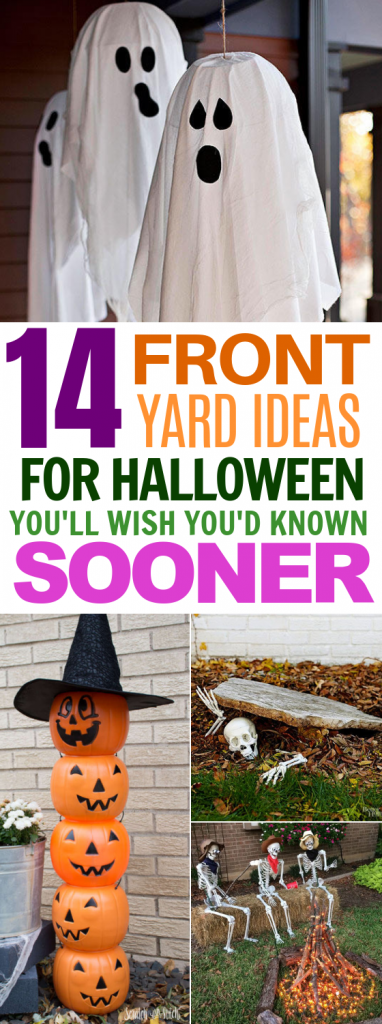 DIY Front Yard Ideas for Halloween That'll Spook the Neighborhood