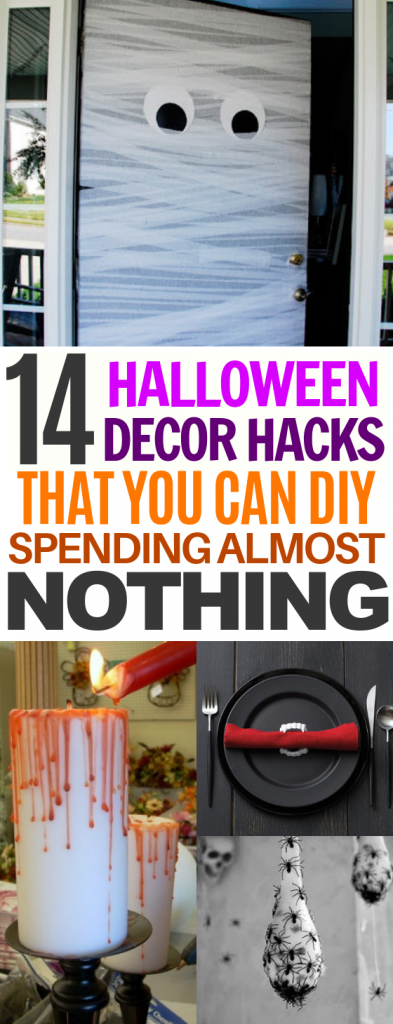 14 Halloween Decor Hacks That You can DIY Spending Almost NOTHING!