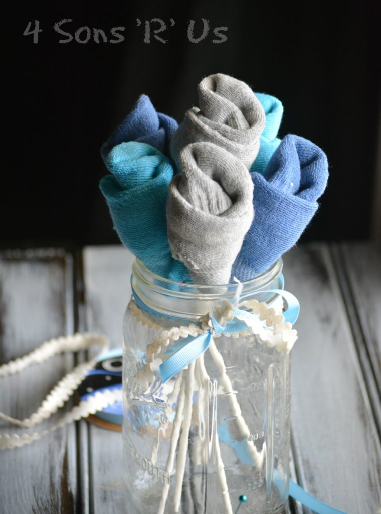 Sock Bouquet DIY