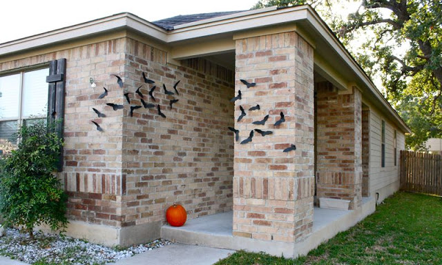 DIY Bats Halloween Decor