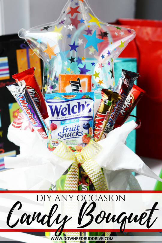 Candy Bouquet DIY for Him