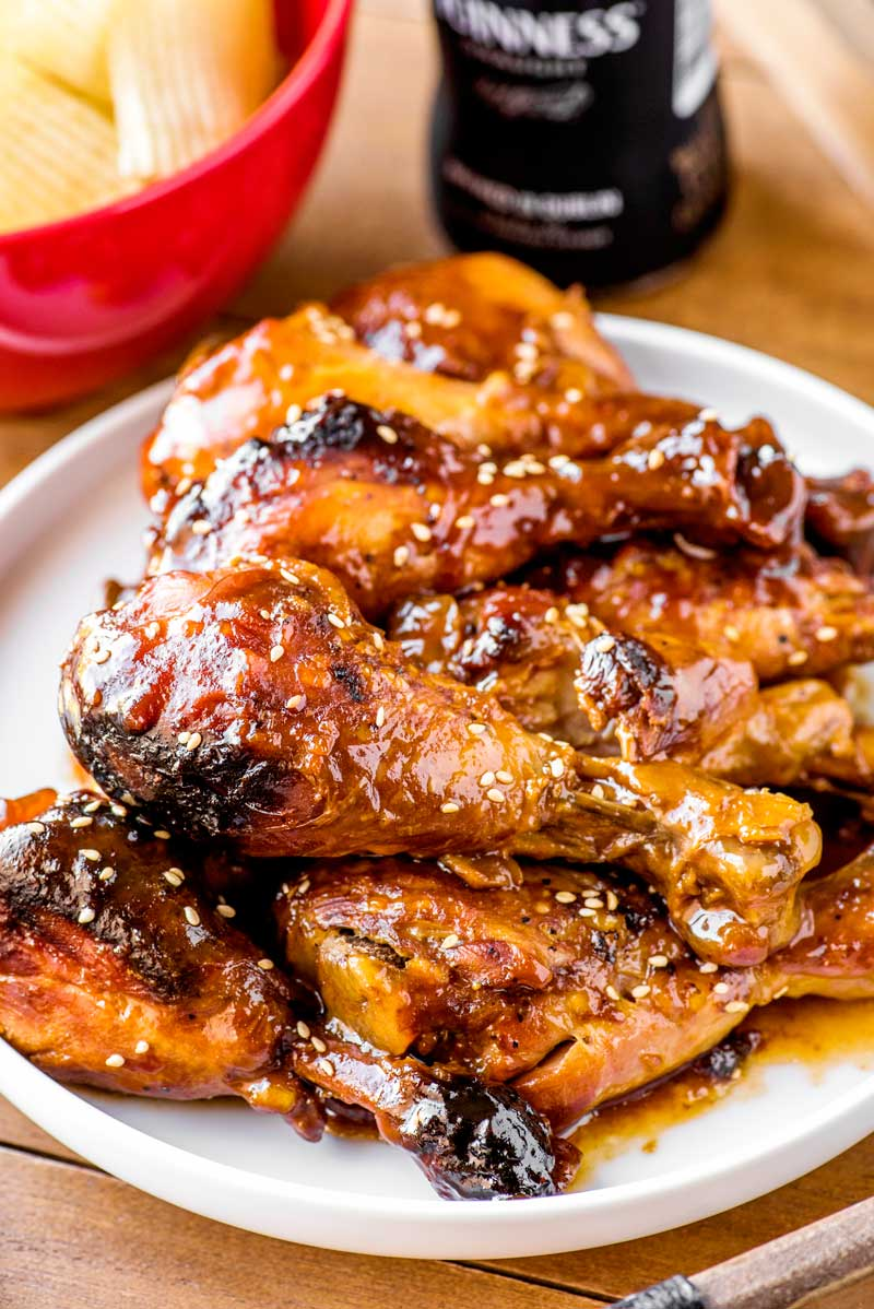Cranberry BBQ Drumsticks Fall Crock Pot Recipe