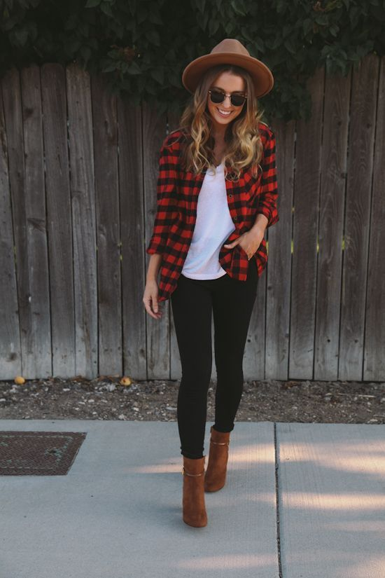 Plaid Lumberjack Fall Look