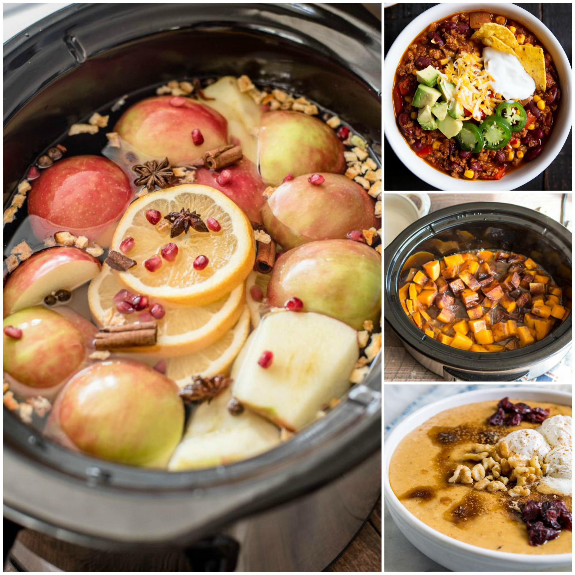 fall crock pot recipes