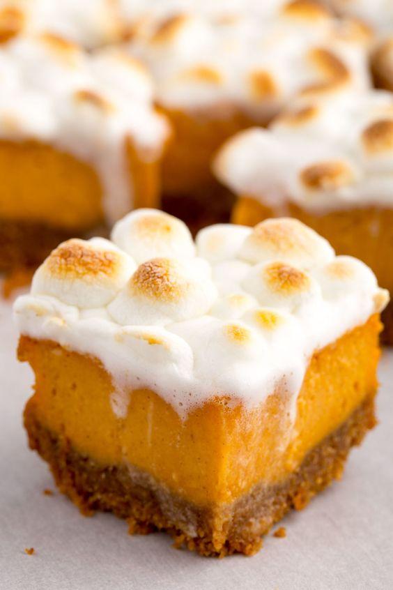 Sweet Potato Marshmallow Bites