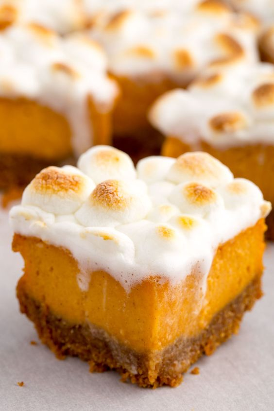 Sweet Potato Marshmallow Bites