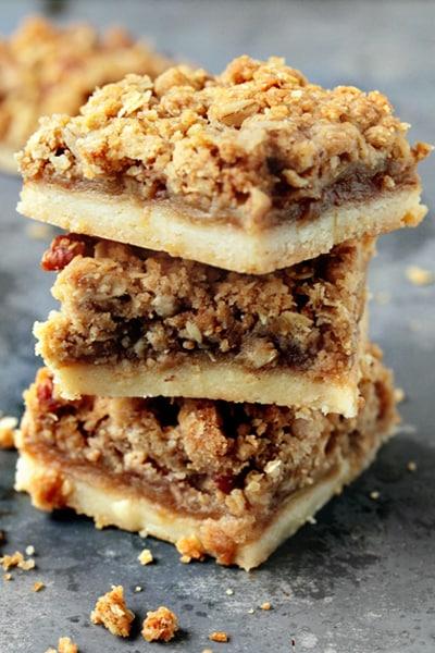 Apple Pie Bars for Thanksgiving Dessert