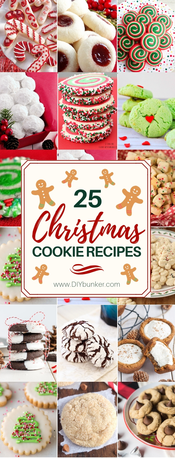 25 Best Christmas Cookie Recipes