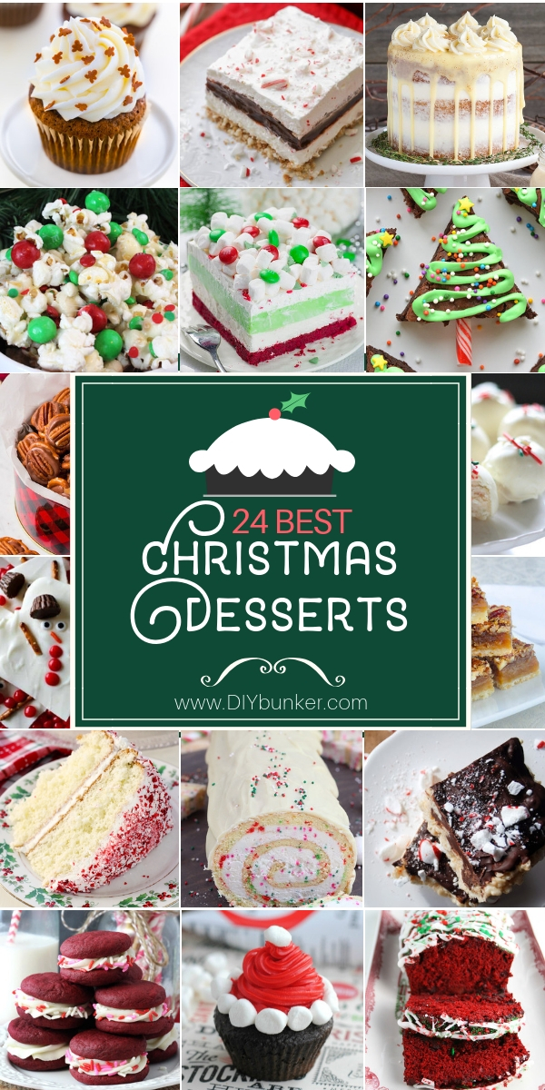 24 Christmas Dessert Recipes