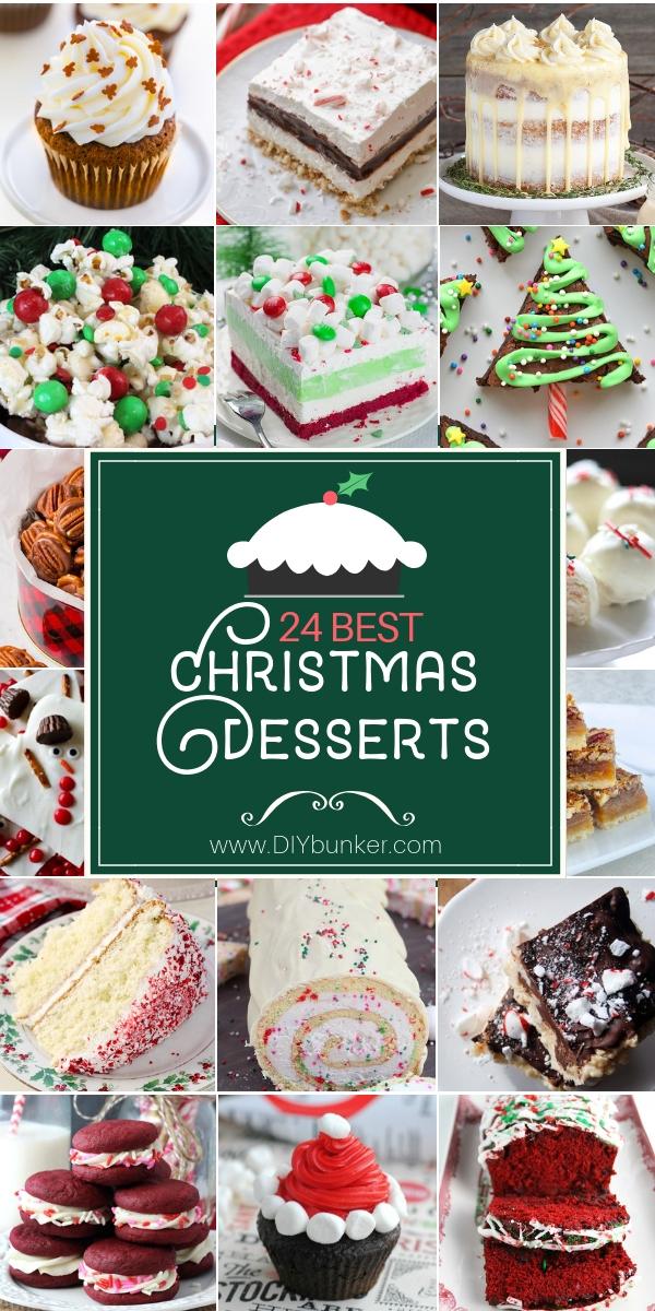 24 Christmas Dessert Recipes
