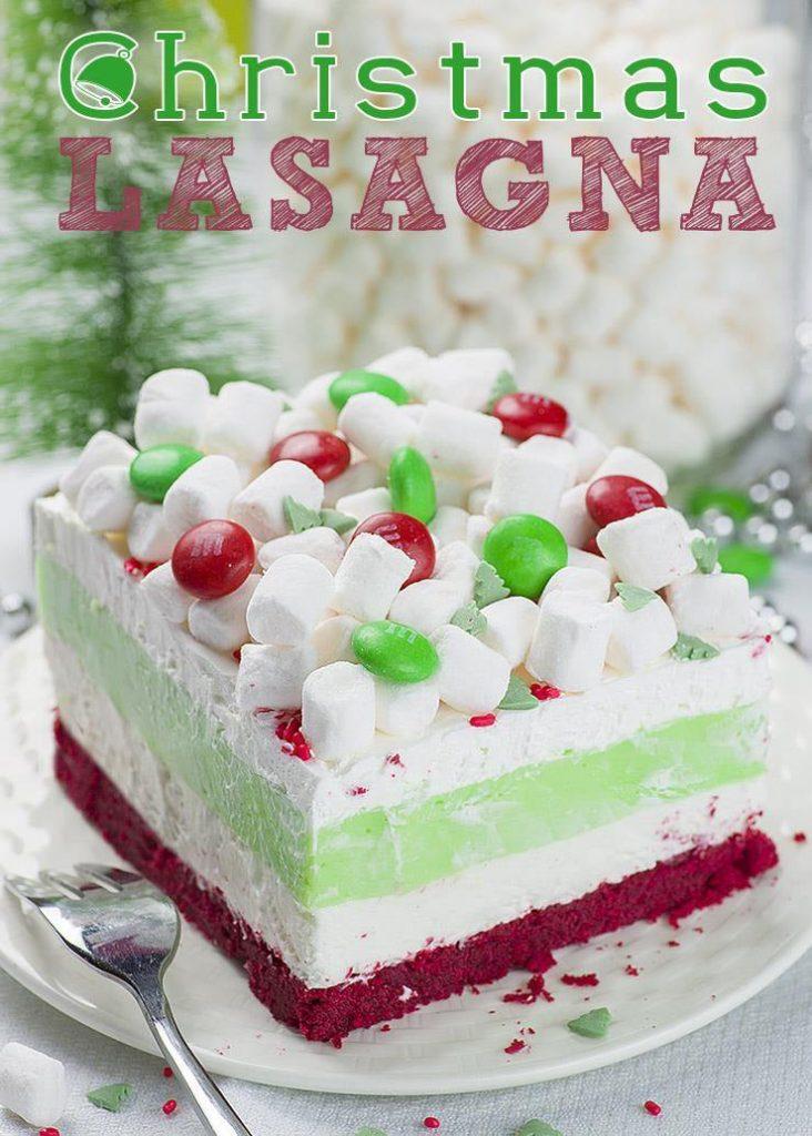 Christmas Lasagna Dessert