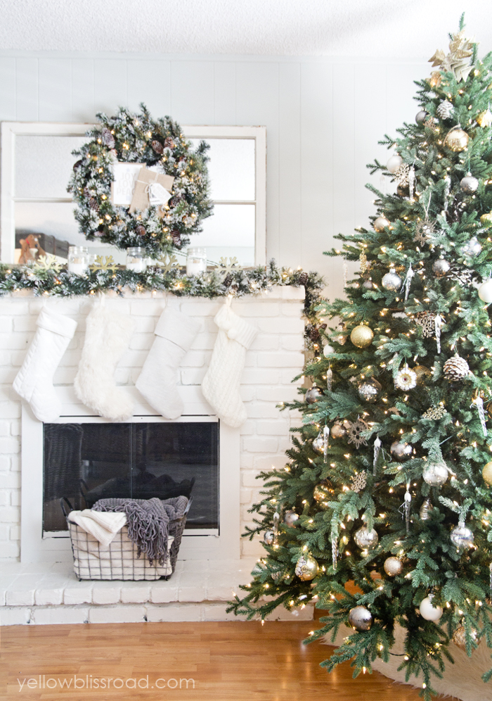 Rustic Glam Christmas Tree Decor