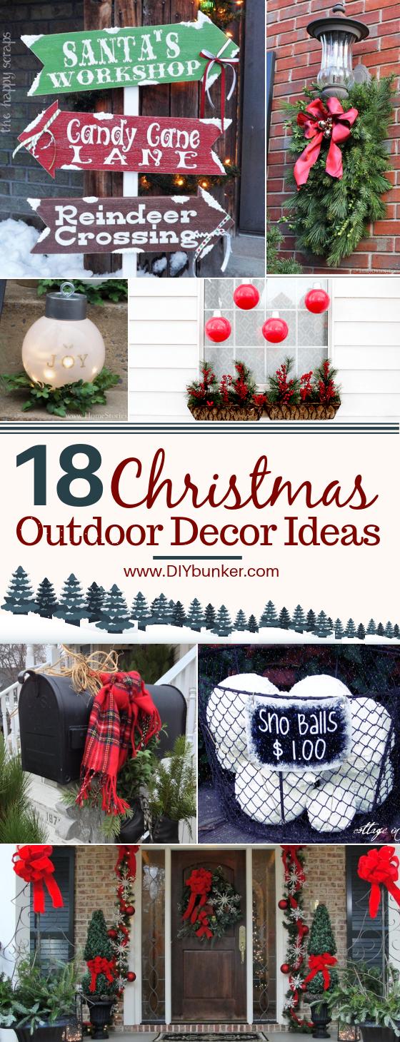 18 Best Outdoor Christmas Decor