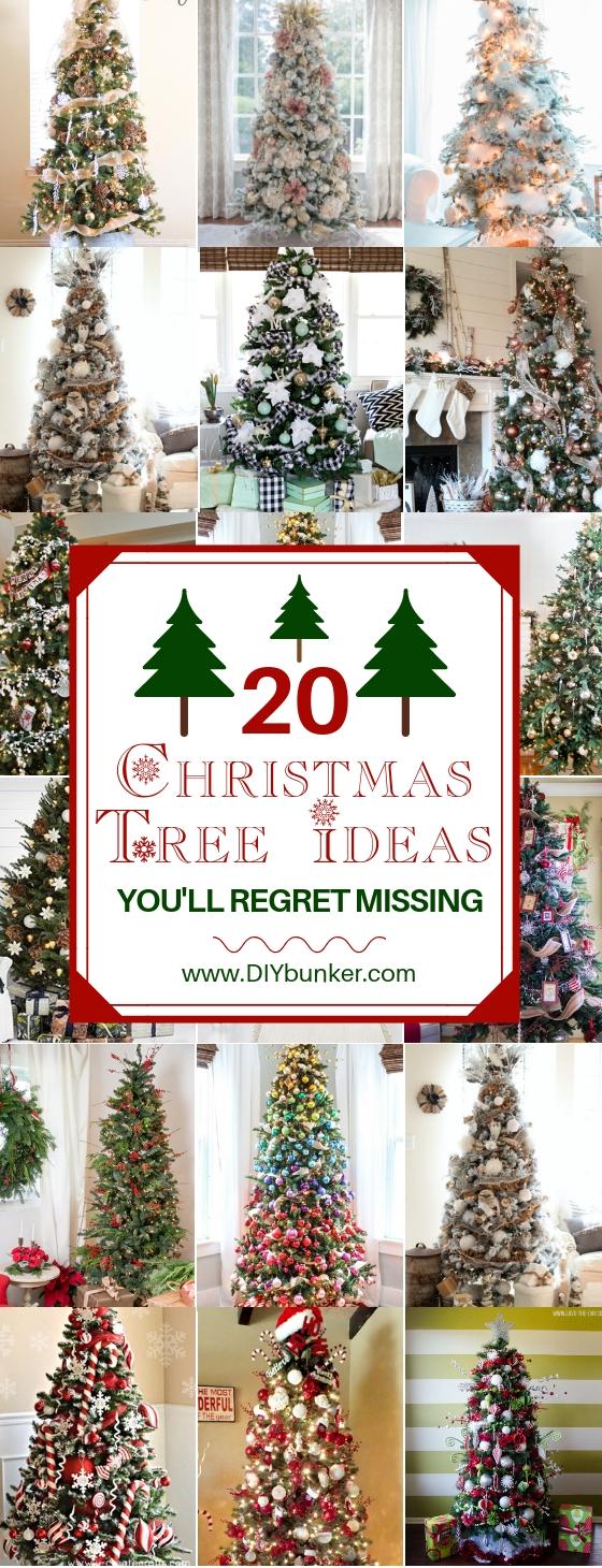20 Christmas Tree Decorating Ideas to DIY