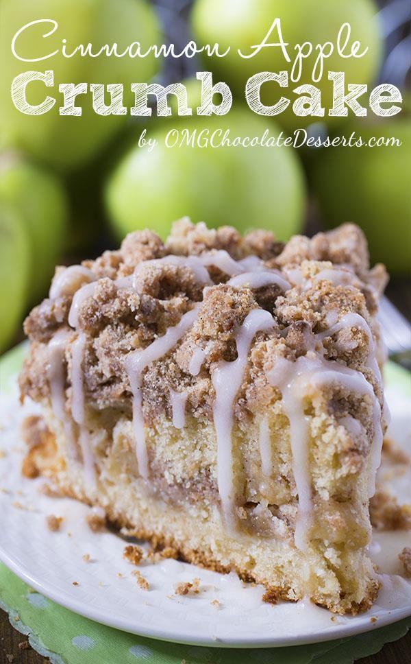 Cinnamon Apple Crumb Cake Thanksgiving Recipe