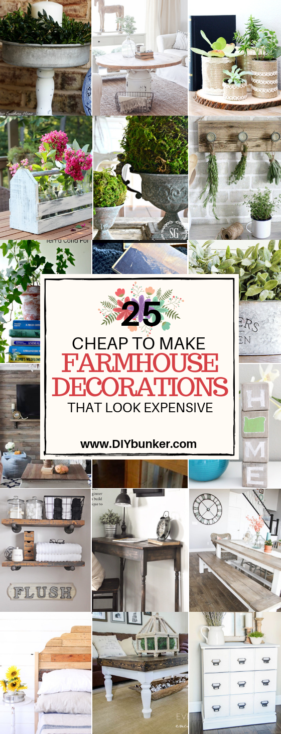How To Do Rustic Home Decor on a Budget