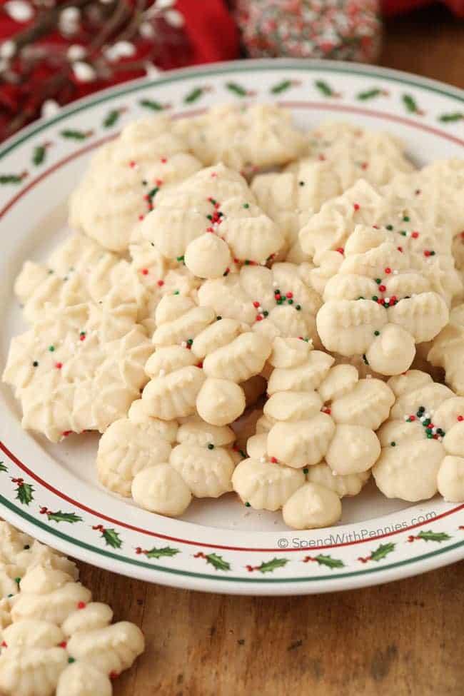 Grandma's Shortbread Cookies Using a Cookie Press