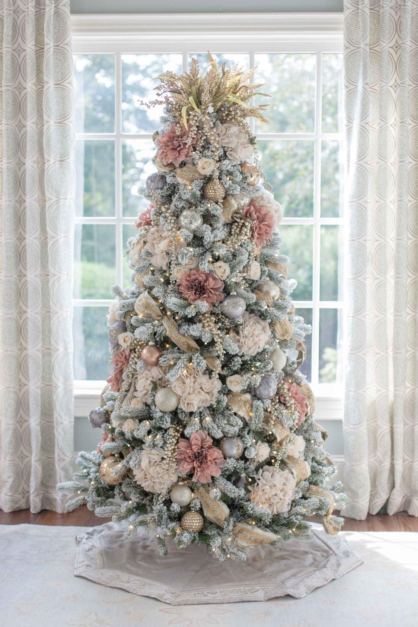 Pink Christmas Tree Bluegraygal 3