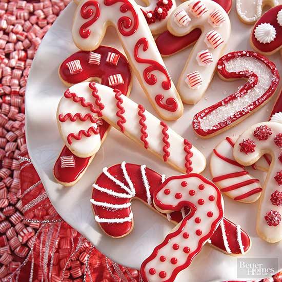 Candy Cane Sugar Cookies Recipe