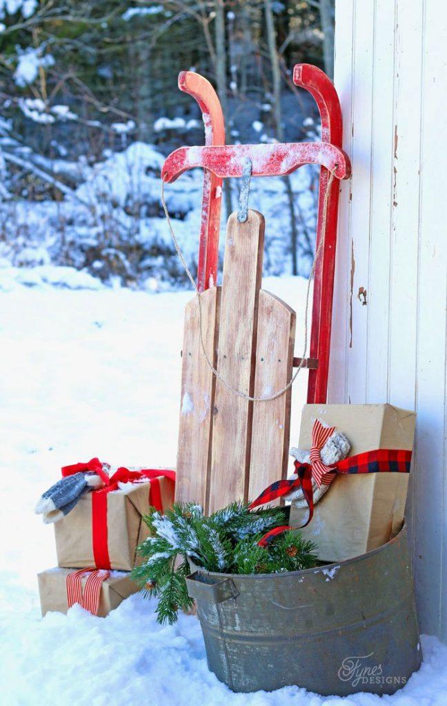 Christmas Sleigh Decoration