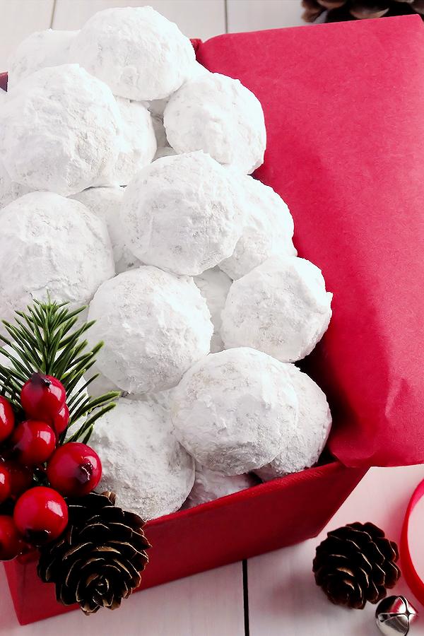 Snowball Christmas Cookies Recipe