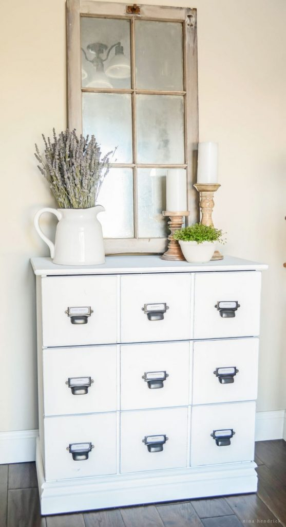 Wood Dresser IKEA Farmhouse Hack