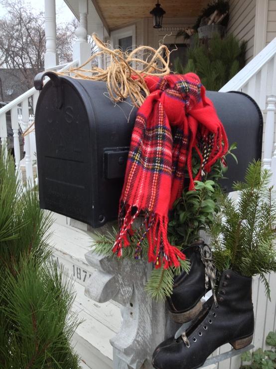 Christmas Mail Box Decor