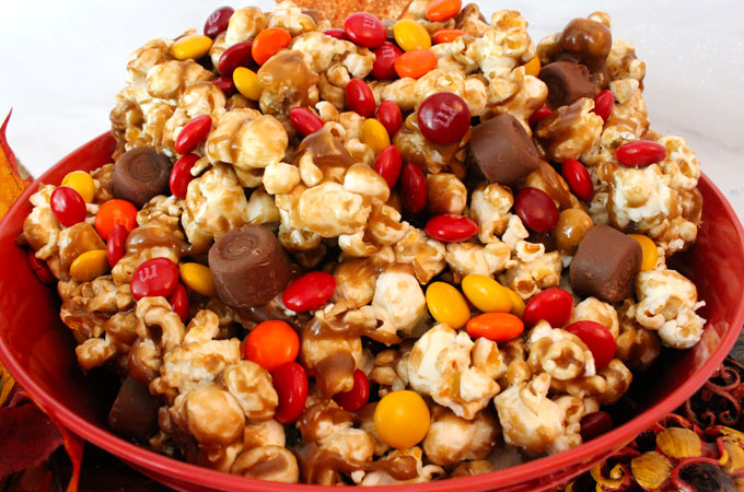 Harvest Caramel Corn Recipe