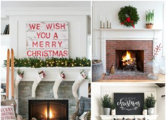 14 Best Christmas Mantels