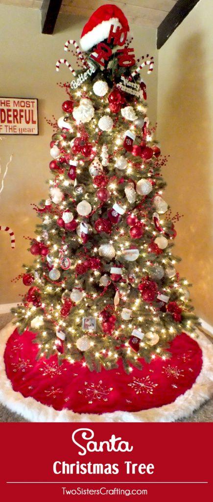 Santa Christmas Tree Theme