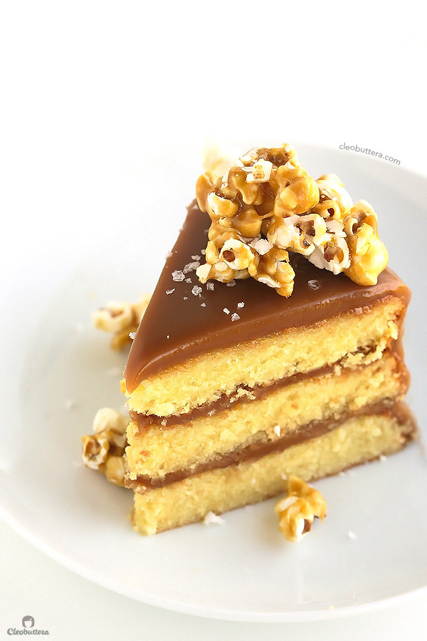 Caramel Cake With Sea Salt Recipe