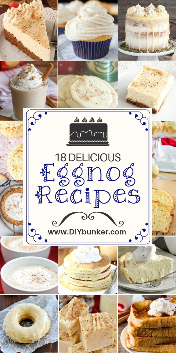 18 Eggnog Recipe Ideas