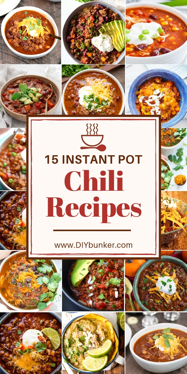 15 Instant Pot Chili Recipes