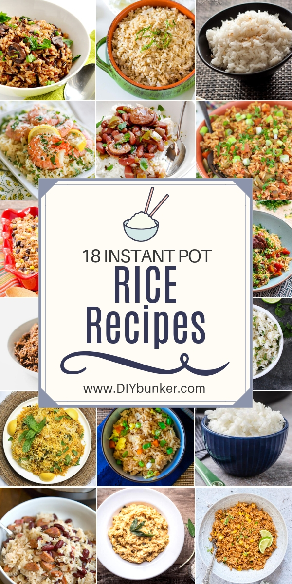 18 Instant Pot Rice Recipes