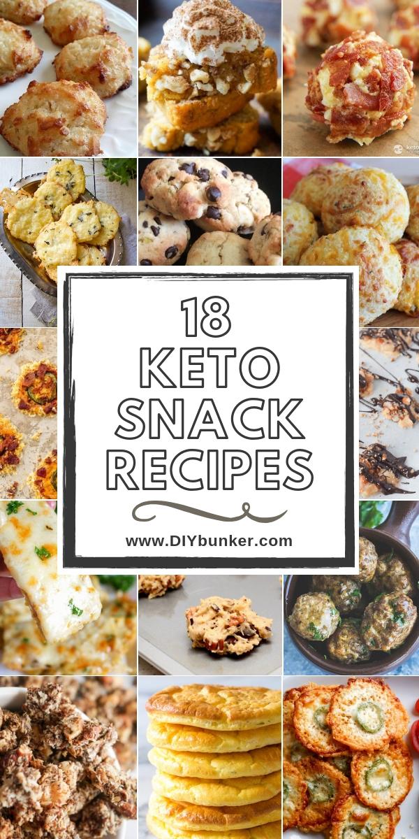 18 Keto Snack Ideas