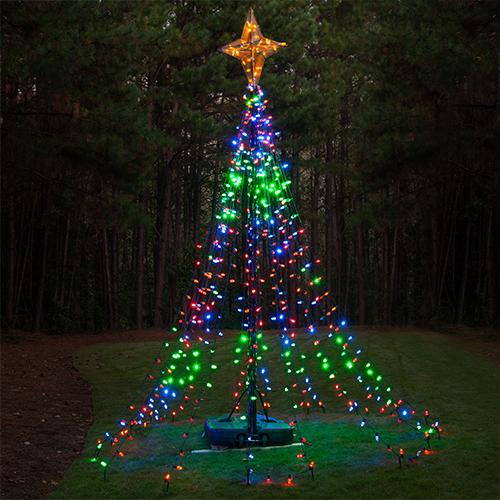 Lawn Christmas Tree