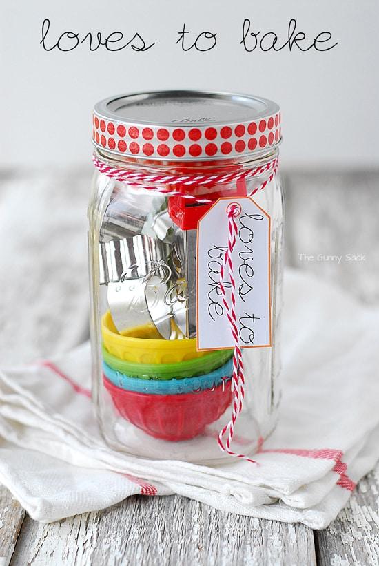 Baking Mason Jar Gift