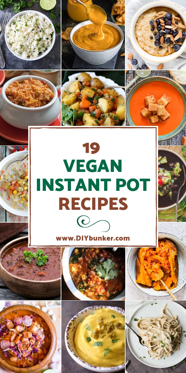 19 Vegan Instant Pot Recipes