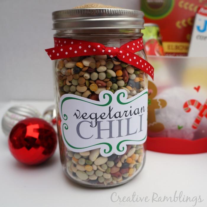 Vegetarian Chili in a Jar