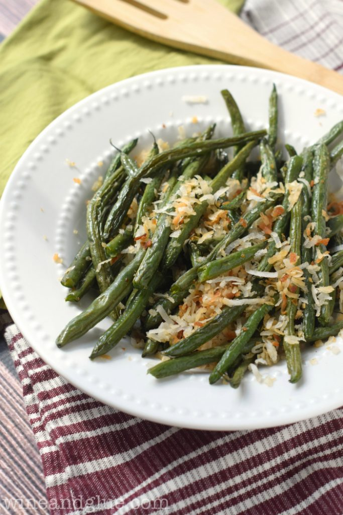 Toasted Coconut Beans
