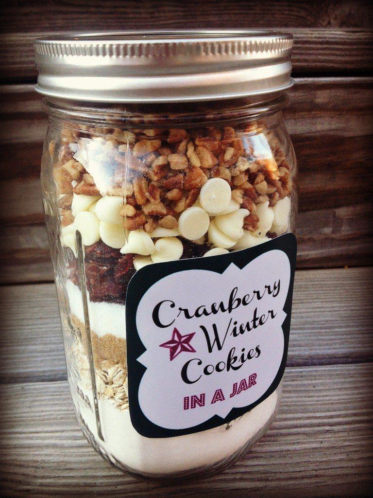 Cranberries in a Jar