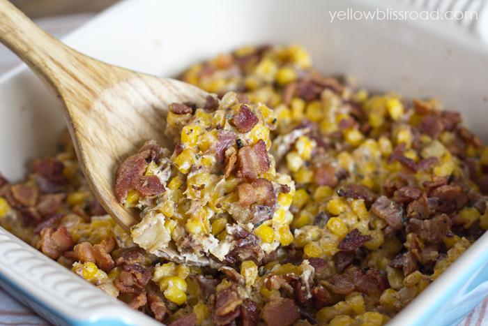 Corn and Bacon Casserole