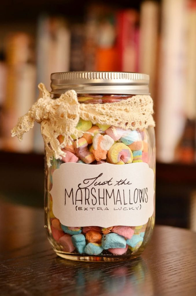 Just the Marshmallow in a Jar