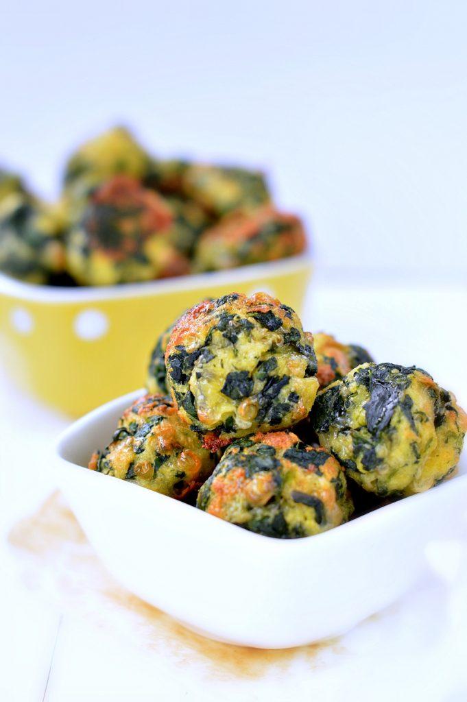 Spinach Cheesy Balls