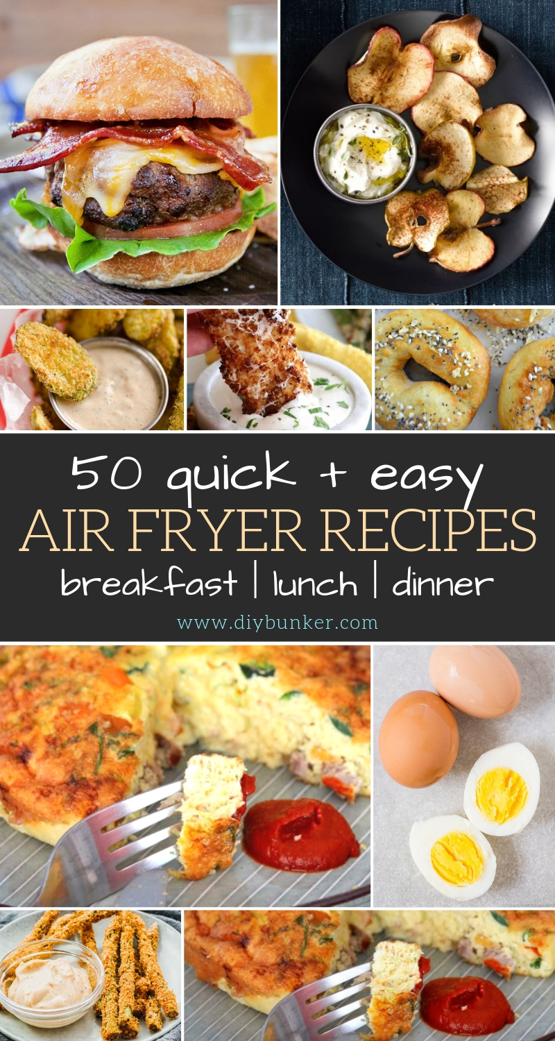 Best Air Fryer Recipes For Breakfast Lunch And Dinner