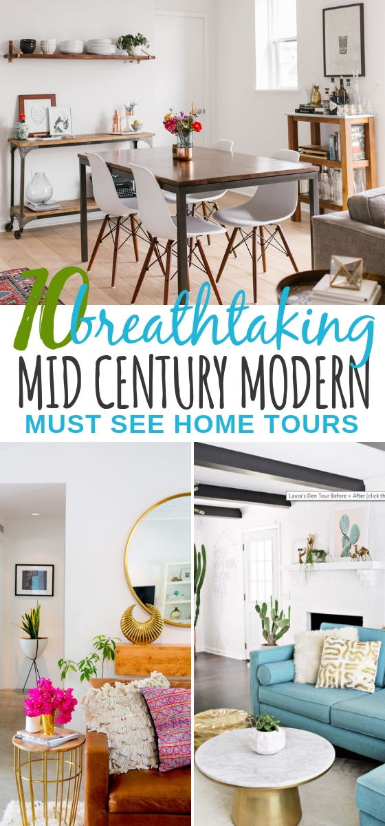 10 Mid Century Modern House Tours