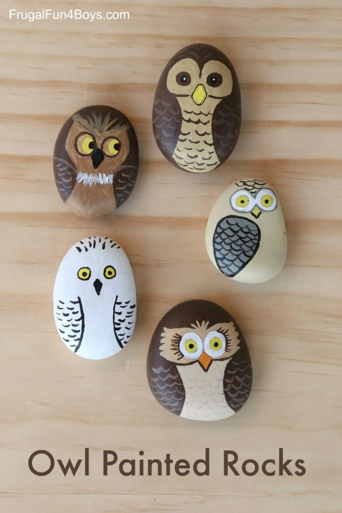 21 Beautiful Painted Rocks