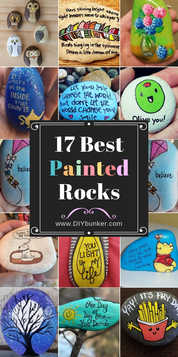 17 Painted Rocks for Spreading Kindness