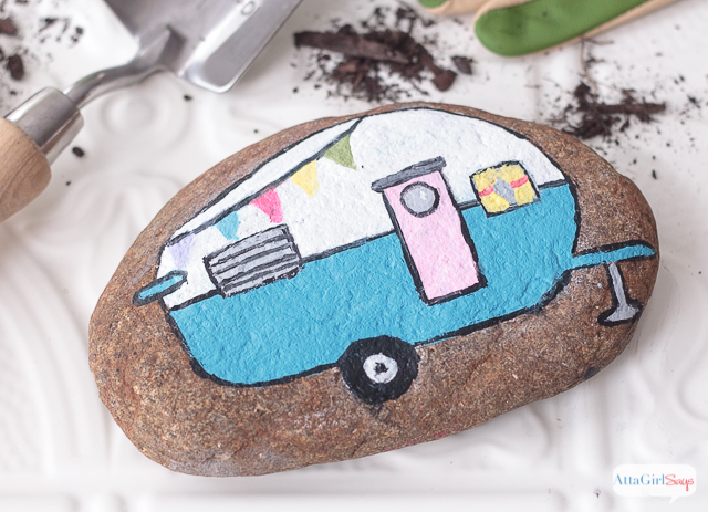 21 Cute Painted Rocks