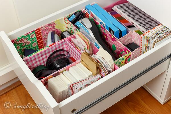 Box Organizing